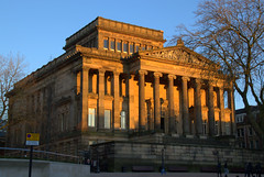 Sunlit Harris Museum in Preston (Tony Worrall) Tags: architecture building built urban sunlit sunny color colourful dusk glow sunset lines preston lancs lancashire city welovethenorth nw northwest north update place location uk england visit area attraction open stream tour country item greatbritain britain english british gb capture buy stock sell sale outside outdoors caught photo shoot shot picture captured ilobsterit instragram photosofpreston harrismuseum harris grand gallery