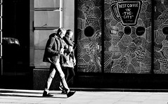 Thats A Matter Of Opinion (jaykay72.) Tags: london uk street candid streetphotography kingwilliamstreet stphotographia blackandwhite bw