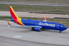 N8683D Boeing 737-8H4 Southwest (SamCom) Tags: swa southwest southwestairlines 737 boeing 737800 kdal dal dallaslovefield lovefield n8683d 7378h4
