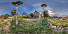 Mare de Deu d'Aguilar (miqueljover) Tags: equirectangular 360º noguera lleida ermita hdr
