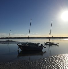 Early morning light on the Barwon River. (The Pocket Rocket, On and Off.) Tags: earlymorninglight barwonriver yachts barwonheads bellarinepeninsula victoria australia