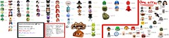 (nearly) every lego batman villian (Jacob Customs98) Tags: lego batman dc super villians list moc