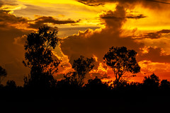 Sunset (Markus Branse) Tags: australia sunset abend evening tropen abendrot rot rood red roughe night sun sonnenuntergang sol wolken wetter weather territory northern australien aussie oz australie austral cloud clouds cloudy himmel heaven sky idylle