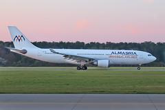 Airbus A330-203 - SU-TCH - HAJ - 07.04.2019(1) (Matthias Schichta) Tags: haj hannoverlangenhagen eddv planespotting flugzeugbilder flugzeug airbus a330200 sutch almasriaairlines