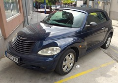 2001 Chrysler PT Cruiser Cabrio Limited 2.4L (FromKG) Tags: chrysler ptcruiser cabrio limited 24l blue car kragujevac serbia 2019