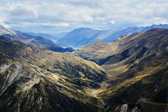 Landscape around Queenstown - 3 (Gomen S) Tags: landscape geology newzealand 1680mm d7100 nikon nature aerophotography helicopter