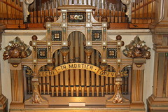 "Dance hall organ 'De Mortier"", 1927, detail (Davydutchy) Tags: utrecht nederland netherlands niederlande paysbas holland museum speelklok tot pierement steenweg mechanical music dancehall organ orgue danspaleis mortier demortier dans dance march 2019"
