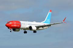 LN-BKC Norwegian Boeing 737-8Max EIDW 27/9/18 (David K- IOM Pics) Tags: eidw dub dublin ireland collinstown airport ln lnbkc nax dy norwegian air shuttle boeing 737 737800 7378max b38m