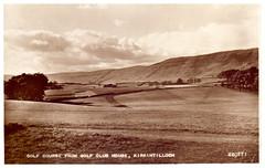 Kirkintilloch Golf Club. (Paris-Roubaix) Tags: kirkintilloch golf club antique postcards scotland vintage scottish campsie fells