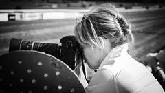 Pole Position (Tom Levold (www.levold.de/photosphere)) Tags: afsdxnikkor18105mm cologne d700 köln nikon race racetrack rennbahn bw sw porträt street portrait people
