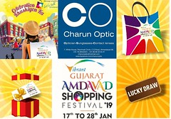 LAST DAY !!! Rush Now Shop @ Charun Optic Participating Eyewear Store in Vibrant Gujarat Amdavad Shopping Festival  COME SHOP for just Rs.500 @ Charun Optic &  Get Assured ASF Lucky Draw Coupon &  Win Next Day  For Ex :- If your purchase is Rs.4500 you wi (Charun Optic) Tags: nrieyewear shoppingfestival reflectors globalsummit charunoptic nri discounts celebrationkhushiyonka nrispectacles shopping sunglasses spectacle ahmedabadshoppingfestival2019 eyewear nricollection amdavadshoppingfestival offers luckydraw optician schemes asf2019 bumperprizes asf polarised prizes luxury eyeglasses vibrantgujarat ahmedabad fashion