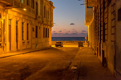 Havana sunset (Flightless Kiwi) Tags: ifttt 500px havana cuba sunset malecon old buildings street car empty peaceful quiet glow dusk twilight night travel caribbean island coast city streetlamp lahabana