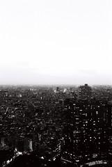 Boundless (Architecamera) Tags: monochrome blackandwhite blackwhite shinjuku tokyo