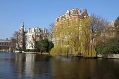 Amsterdam2014_162 (schulzharri) Tags: amsterdam holland niederlande netherlands europ europe flus river water building house haus sun sonne sky himmel blau blue