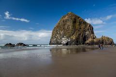 Cannon State Beach, Oregon (silkylemur) Tags: 24105mm america cmos cannonbeach canon canon5d canon5dmarkiii canonef24105mmf4lisusmlens canonef24105mmf4lisusm canoneos5dmarkiii canonlens dslr eeuu ef eflens estadosunidos fullframe lens noroestepacífico noroestedelpacífico northamerica oregon pnw pacificnorthwest pacificocean pazifischernordwesten professional rock rocks rockymountains slr sea usa unitedstates unitedstatesofamerica water westcoast wybrzeżepółnocnozachodnie пацифичкисеверозапад קנון كانون کانن アメリカ合衆国 キャノン キヤノン 佳能 北米 太平洋岸北西部 米国 美国 西海岸 캐논 태평양북서부