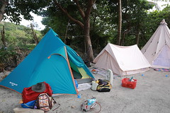 IMG_7319 (諾雅爾菲) Tags: taiwan camping 台灣 墾丁 露營 香蕉灣原始林露營區 熊帳 coleman 印地安帳