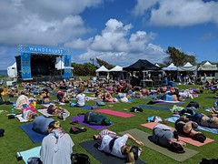 2019: roll to the side as they awake from savasana at Wanderlust MC Yogi Yoga Class (Eric Broder Van Dyke) Tags: wanderlust oahu 2019 pixel3 roll side they awake from savasana mc yogi yoga class