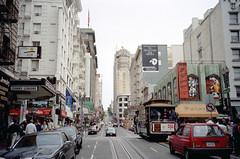 1998-07 San Francisco Cable Car Nr.5 (beranekp) Tags: usa california san francisco tramway tramvaj tram tranvia strassenbahn šalina elektrika električka cable car 5