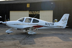 N321W Cirrus SR20 GTS Fairoaks 26th March 2019 (michael_hibbins) Tags: n american america civil usa united states aeroplane aerospace aircraft aviation airplane air aero airfields airport airports civi general prop props propeller propellers plane planes