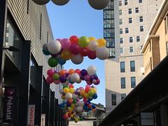 Ballonnen wolken
