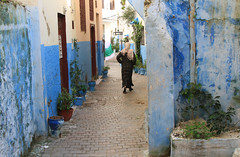 Alley in the Old Medina, Tanger (Wild Chroma) Tags: street alley morocco tanger tangier
