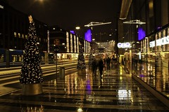 Christmas lights in Stockholm (OlgaL2018) Tags: stockholm sweden christmas new year outside night lights tree winter