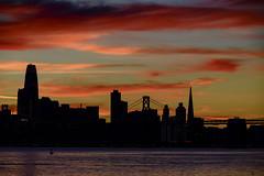 San Francisco Silhouette (Bob Nastasi) Tags: sanfrancisco skyline silhouette twilight california z7 bobnastasi