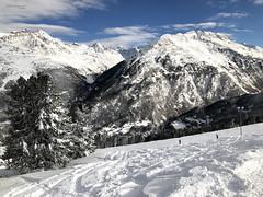 Skiing in Soelden (piotr_szymanek) Tags: soelden winter snow ski resort mountains clouds blue sky landscape outdoor
