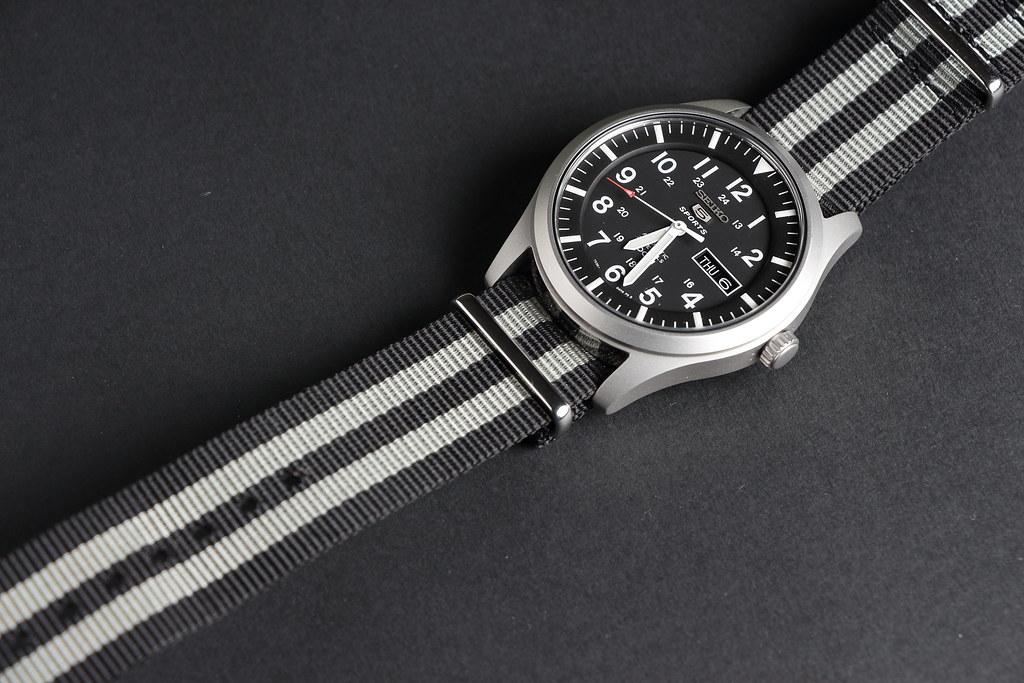 325d30f4171 Seiko SNZG15 on Bond NATO strap (nnebeker) Tags  seiko field watch seiko5  fieldwatch · SEIKO 5 Sports ...