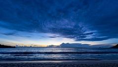 Anse Intendance / Пляж Анс Интенданс (dmilokt) Tags: природа nature пейзаж landscape море sea пляж beach песок sand пальма palm небо sky облако cloud dmilokt закат рассвет восход sunset sunrise nikon d850