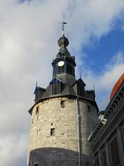 Looking up at Belfry near Place d'Armes, Namur, Belgium (Paul McClure DC) Tags: belgium belgique wallonie wallonia feb2018 namur namen ardennes historic architecture