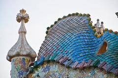 Techo de la Casa Batlló. Barcelona, España. (pablocba) Tags: casa batllo batlló gaudi antoni catalunya catalunia españa spain arquitectura architecture europa house diseño design nikon d7100