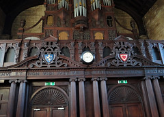 Balliol College dining hall, interior (heffelumpen9) Tags: balliolcollege oxforduniversity lionofgalloway houseofballiol johnballiol devorgilla dervorguilla