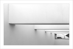 Interior amb figura II / Interior with figure II. (ximo rosell) Tags: ximorosell bn blackandwhite blanco negro bw buildings arquitectura architecture abstract abstracció llum luz light people nikon d 750 interiors monocromát