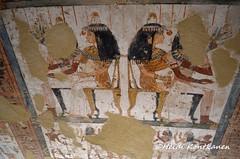Menna and Henuttawy (konde) Tags: 18thdynasty newkingdom tt69 menna stele stela tomb sheikhabdelqurna luxor thebes art ancientegypt hautamaalaus mythology tombpainting henuttawy
