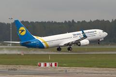 A56A4132@L6 (Logan-26) Tags: boeing 7378as urpsu msn 37542 ukraine international airlines riga rix evra latvia airport aleksandrs čubikins