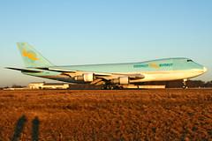 Berkut Airlines  Boeing 747-2B5F(SCD) 9G-MKS (widebodies) Tags: luxemburg luxembourg lux ellx widebody widebodies plane aircraft flughafen airport flugzeug flugzeugbilder