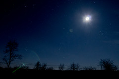 moon at night (blendenbingo) Tags: stars astro