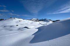 Winterpanorama - Tyrol, Austria (W_von_S) Tags: tirol tyrol austria österreich snow snowlandscape snowscape snowshoehike schnee schneelandschaft schneeschuhwanderung winter winterlandschaft winterpanorama landschaft landscape panorama paysage paesaggio weis blau himmel sky clouds wolken werner wvons sony sonyilce7rm2 outdoor berge mountains alpen alps