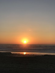 Sunset at Mission Beach (Sunny Day Photography) Tags: sunset missionbeach sandiego