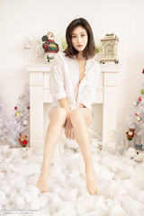 Moon (Francis.Ho) Tags: moon barefeet shirt lingerie studio body sexy pajamas girl woman female femme lady portrait people beauty pretty lips eyes hair face chinese elegant glamour young sensuality fashion naturallight cute goddess