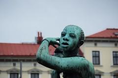 Africa (rotabaga) Tags: sverige sweden göteborg gothenburg järntorget sculpture pentax k5