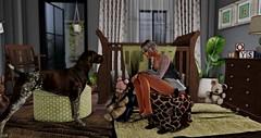 Family (Corina Wonder (Cosmopolitan Events)) Tags: minimal cosmo cosmopolitan event sl second life zen creations black bantam tlc insurrektion bauhaus movement swallow euphoric yumyum cinoe seniha