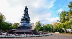 Bronze monument to Queen Catherine (phuong.sg@gmail.com) Tags: architecture avenue bronze building catherine city culture ekaterina empress europe favorite fountain green group history lady landmark marshal metal monument moscow nevsky old palace park pedestal people prospect rarity russia russian saintpetersburg sculpture sky st statue street tourism travel trees view woman
