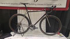 20190317_095501_HDR (AR Cycles) Tags: ar cycles nahbs 2019 bike show steel is real lug road randonneur frames stainless bead blast