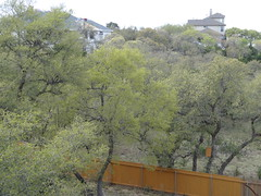 Skyline (austexican718) Tags: centraltexas hillcountry skyline home construction backyard fence roof sony