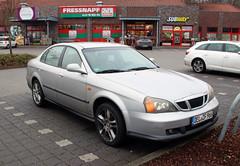 Evanda (Schwanzus_Longus) Tags: delmenhorst german germany south korea korean modern car vehicle sedan saloon daewoo evanda