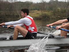 IMG_0963 (NUBCBlueStar) Tags: rowing remo rudern river aviron february march star university sunrise boat blue nubc sculling newcastle london canottaggio tyne hudson thames sweep eight pair