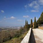 Pienza (Siena) - Una terrazza sulla Val d'Orcia thumbnail