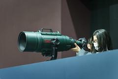 エビフライ (ゑびす) Tags: cp cp2019 パシフィコ横浜 モデル sony α7ii ilce7m2 a7ii mc11 sigma 70200mmf28 dgexhsmos エビフライ apo200500mmf284001000mmf56exdg